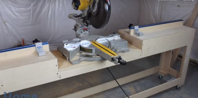 how to cut a crown molding with a miter saw