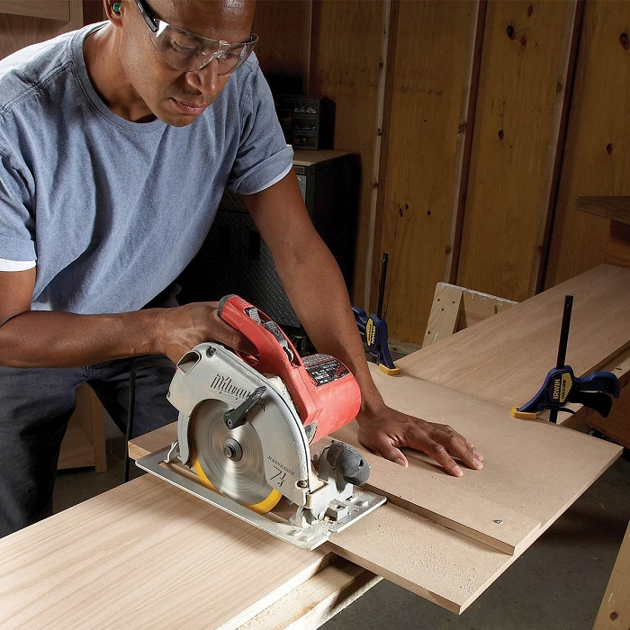 how to rip narrow boards with circular saw