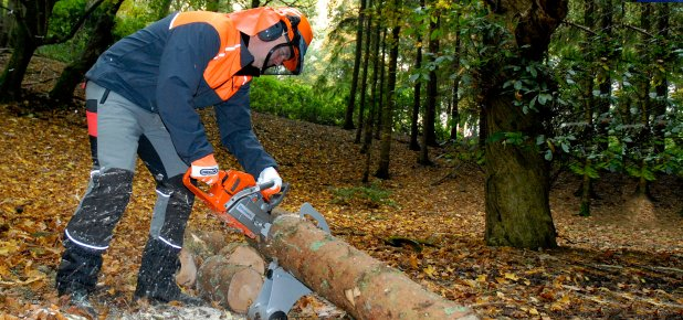 use chainsaw safely