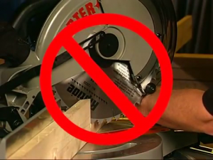 safety features of miter saw