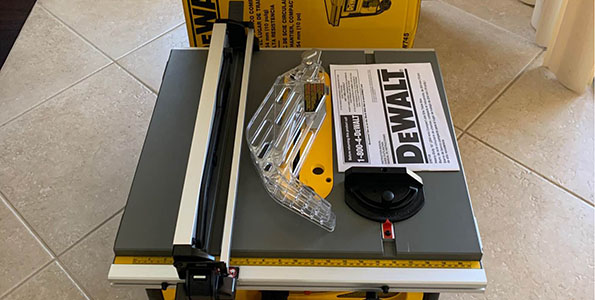 Dewalt DW745 Review