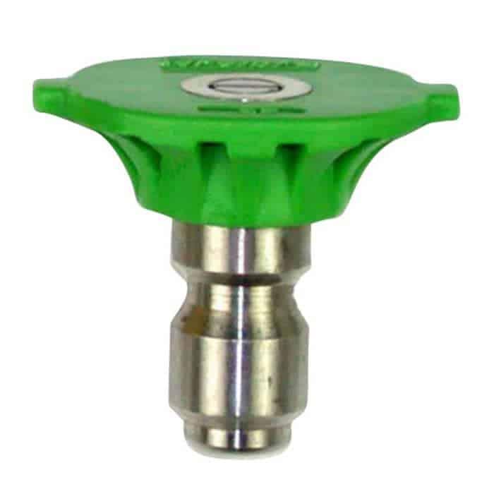 Green-colored 25-degree nozzle