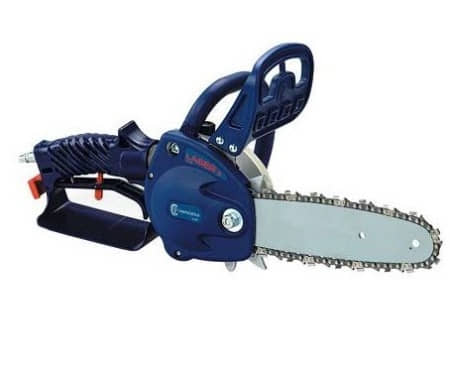 Pneumatic chainsaw