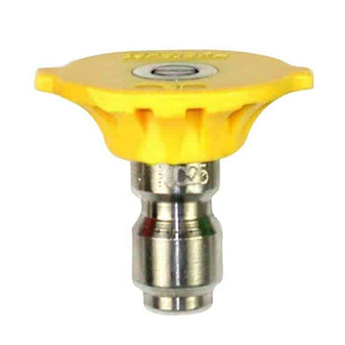 Yellow-colored 15-degree nozzle