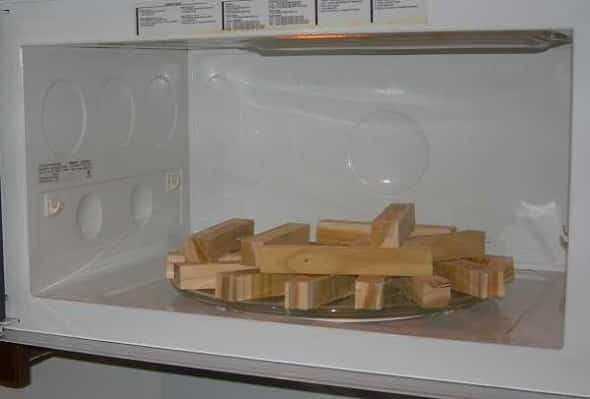Drying Wood In Microwave