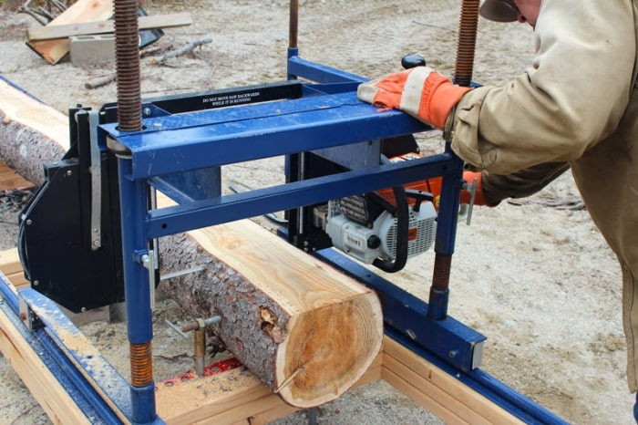 Have you ever sawed lumber with a bandsaw mill