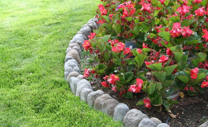 How To Edge A Flower Bed With A Power Edger