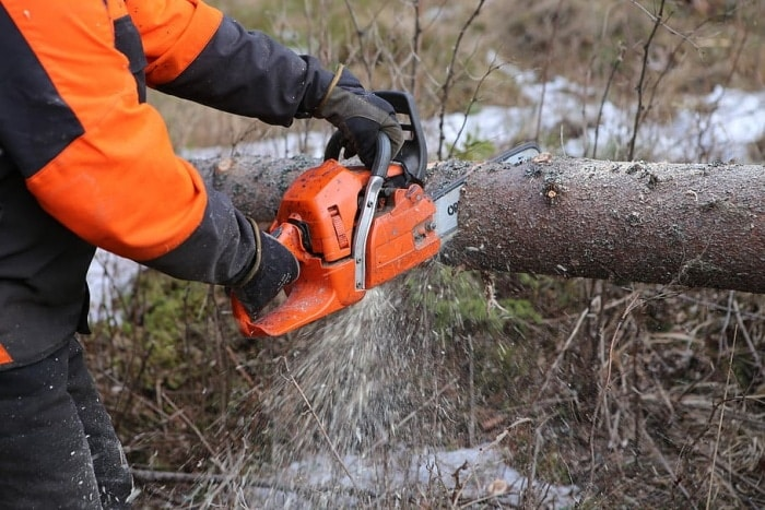Battery-Powered Chainsaws Are Compact For Work