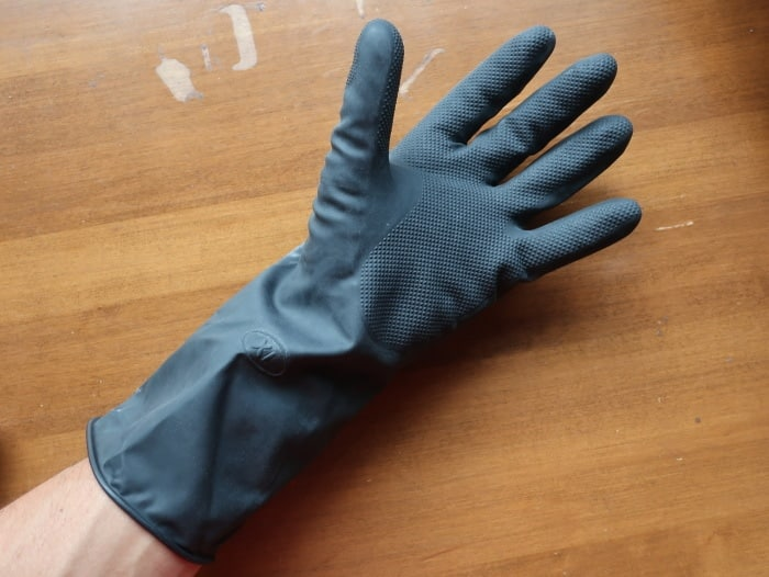 Protective Rubber Hand Gloves