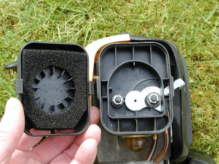 Air filter problem