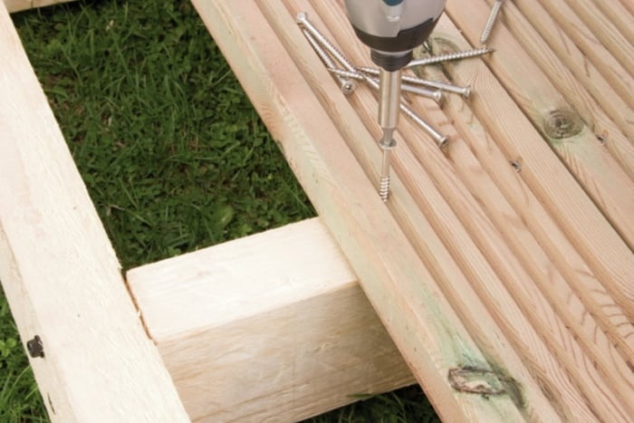 Picking suitable screws can benefit your deck's stability and appearance