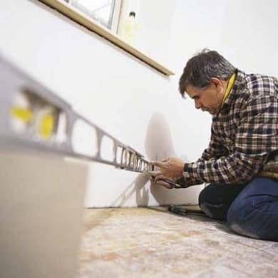 How To Install Baseboard Molding Without A Nail Gun