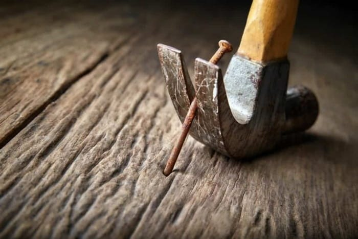 How To Remove Sunken Nails From Wood