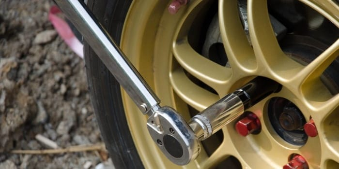 Over-tightening the lug nuts can be dangerous
