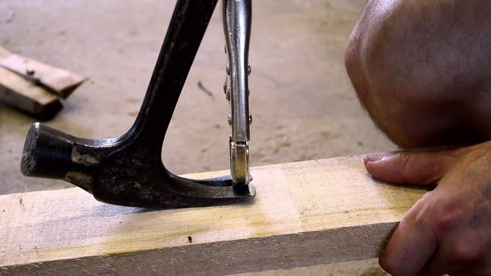 Removing Nails From Wood