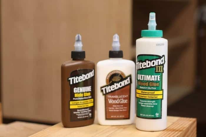 Use glue and sawdust